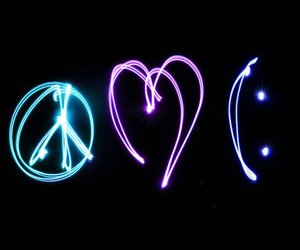 light, peace, and smile image