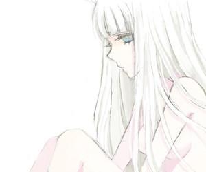 anime girl, anime, and hair image