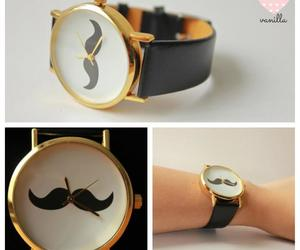 bigote, clock, and girly image