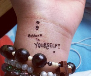 anxiety, beads, and believe image