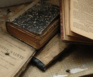 book, vintage, and old image