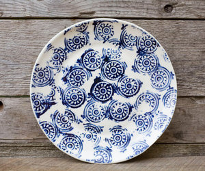 blue, china, and pattern image
