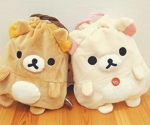 cute, rilakkuma, and bag image