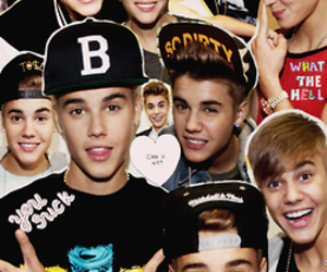 justin bieber, boy, and Collage image