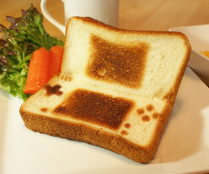 toast, food, and game image