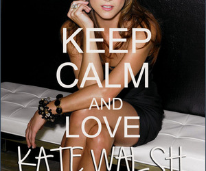 keep calm, kate walsh, and grey's anatomy image