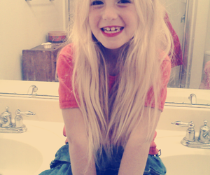 adorable, blonde, and little girl image