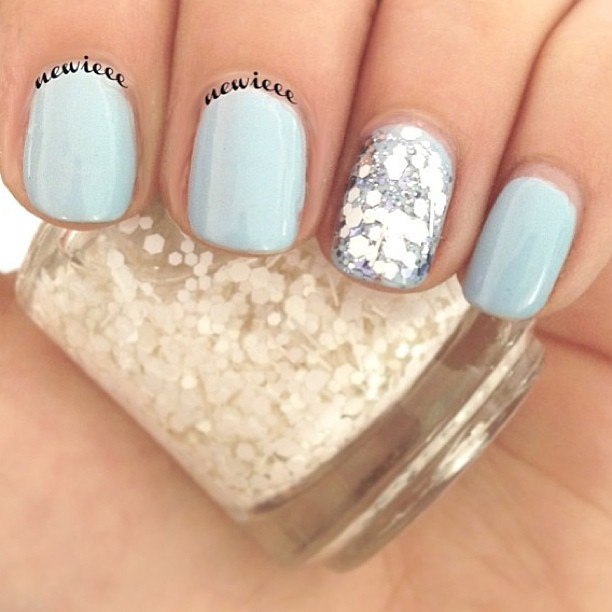 Light Blue Nail Designs For Prom Best Nail Design 2018