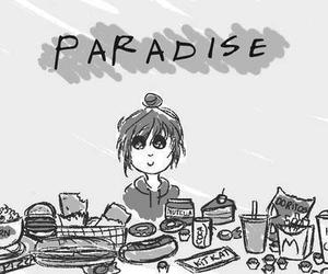 paradise and food image