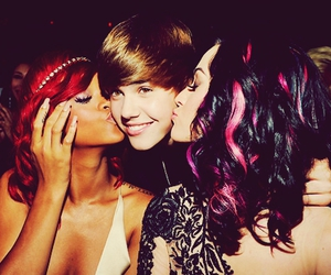 rihanna, justin bieber, and katy perry image