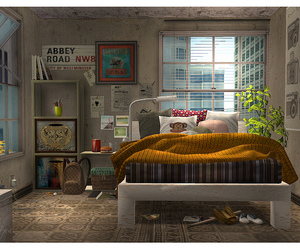 design, sims2, and interior image