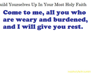 build yourselves up, most holy faith, and growing in christ image