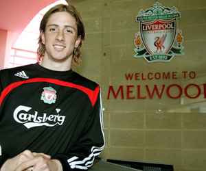 fernando torres and liverpool fc image