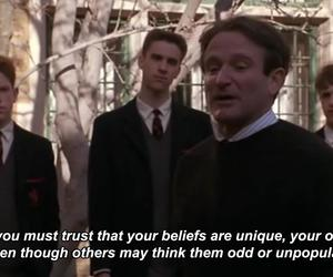beautiful, dead poets society, and life image