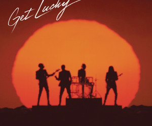 daft punk, get lucky, and music image