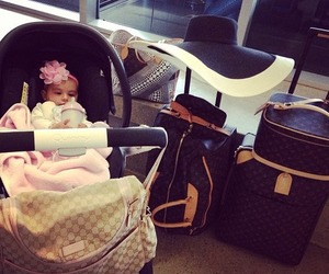 baby, luxury, and bag image