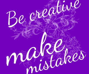creative, mistakes, and young image