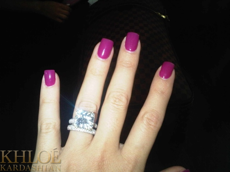 Khloe Kardashian Nails uploaded by Iza on We Heart It