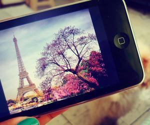 paris, iphone, and phone image
