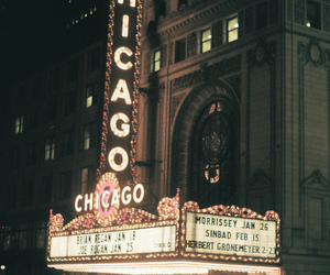 chicago, city, and vintage image