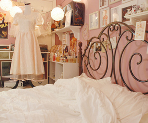 room, bedroom, and dress image
