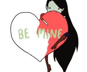 adventure time, marceline, and heart image