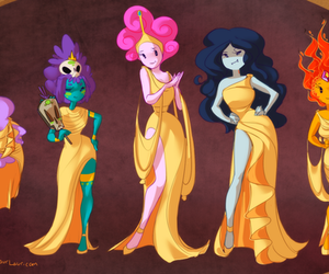 adventure time, hercules, and marceline image