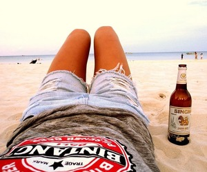asia, beer, and feeling image