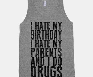 birthday, drugs, and outfit image