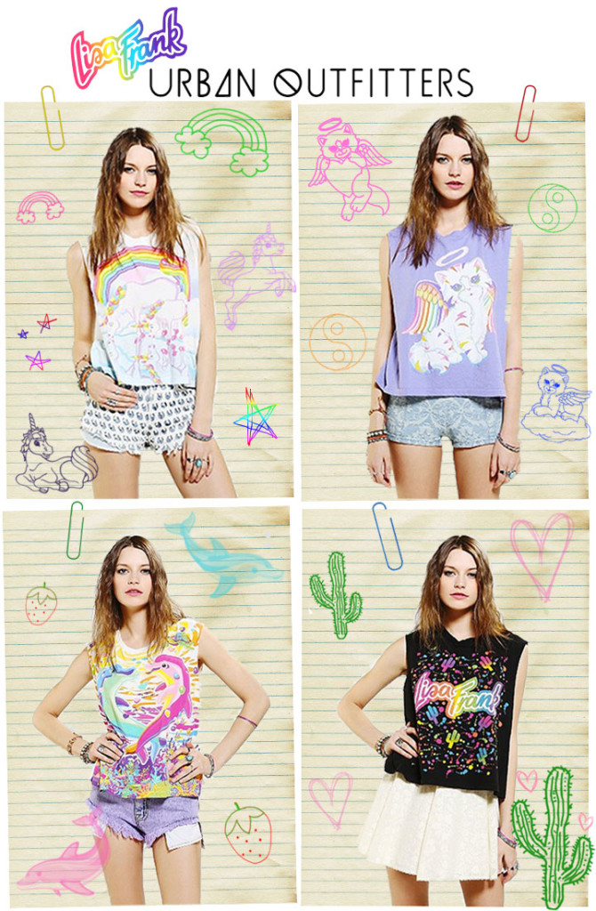 Friday Favie Lisa Frank For Urban Fashionlushxx