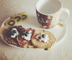 blueberries, breakfast, and healthy image