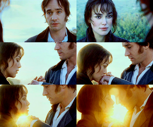 love, mr darcy, and pride and prejudice image