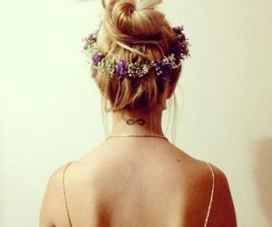 hair, pretty, and beautiful image