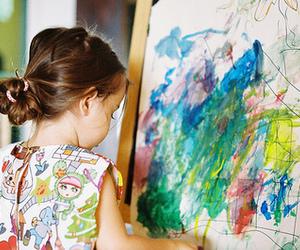 kids, child, and art image