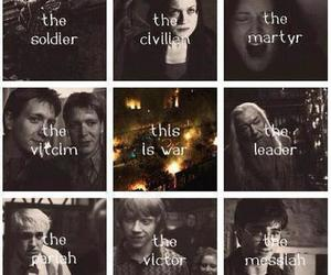 harry potter, war, and this is war image