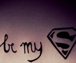 superman, hero, and be image