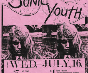 sonic youth and pink image