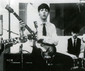 bass, beatles, and black image