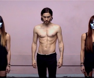jared leto, thirty seconds to mars, and up in the air image