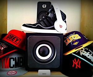 adidas, beats, and shoes image
