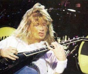 dave mustaine, guitar, and metal image