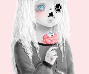 art, creepy, and goth image