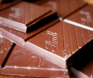 chocolate, food, and lindt image