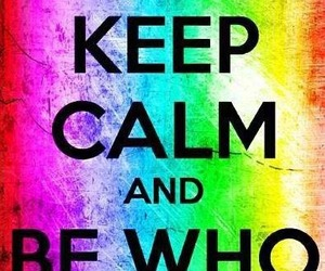 be who you are, originality, and Transgender image