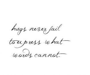 hugs, words, and express image