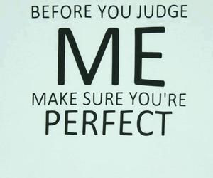 perfect, judge, and me image