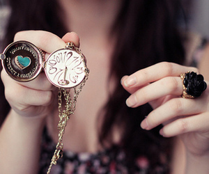 girl, clock, and photography image