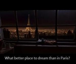 paris, Dream, and quote image