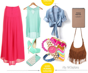 bright, fashion, and pink image