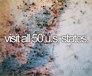 america, before i die, and traveling image